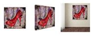 "Trademark Global Janelle Nichol 'Downtown' Canvas Art - 35"" x 35"" x 2"""
