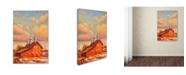"Trademark Global Wanda Mumm 'Benton Barn' Canvas Art - 47"" x 30"" x 2"""