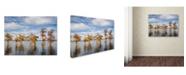 "Trademark Global Jai Johnson 'Through The Cypress Garden' Canvas Art - 24"" x 18"" x 2"""