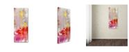 "Trademark Global Sylvie Demers 'Lune De Miel' Canvas Art - 19"" x 8"" x 2"""