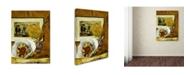 """Trademark Global Renoir 'Still Life With Bouquet' Canvas Art - 47"""" x 35"""" x 2"""""""