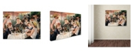 """Trademark Global Pierre Renoir 'The Luncheon of the Boating Party' Canvas Art - 32"""" x 24"""" x 2"""""""