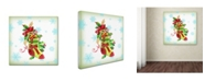 """Trademark Global Jean Plout 'Holiday Celebration 2' Canvas Art - 35"""" x 35"""" x 2"""""""