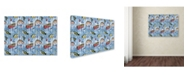 "Trademark Global Jean Plout 'Fisherman 1' Canvas Art - 47"" x 35"" x 2"""
