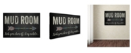 "Trademark Global Jean Plout 'Mud Room 2' Canvas Art - 47"" x 30"" x 2"""