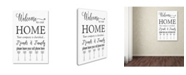 """Trademark Global Jean Plout 'Welcome Home' Canvas Art - 19"""" x 12"""" x 2"""""""