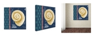 "Trademark Global Jean Plout 'Nautical Blues 2' Canvas Art - 35"" x 35"" x 2"""