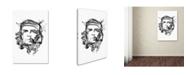 "Trademark Innovations Octavian Mielu 'Che Guevara' Canvas Art - 19"" x 12"" x 2"""