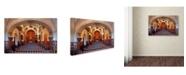 """Trademark Global Mike Jones Photo 'San Xavier from front door' Canvas Art - 32"""" x 22"""" x 2"""""""