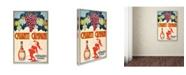 "Trademark Global Vintage Apple Collection 'Chianti' Canvas Art - 24"" x 16"" x 2"""