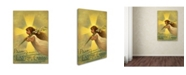 """Trademark Global Vintage Apple Collection 'Easter Cards' Canvas Art - 47"""" x 30"""" x 2"""""""