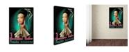 "Trademark Global Vintage Lavoie 'Dance 2' Canvas Art - 32"" x 22"" x 2"""