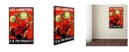 "Trademark Global Vintage Lavoie 'Ads Local 16' Canvas Art - 32"" x 22"" x 2"""