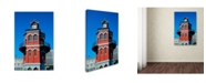 "Trademark Global Robert Harding Picture Library 'Clock Tower' Canvas Art - 24"" x 16"" x 2"""