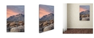"Trademark Global Robert Harding Picture Library 'Mountain Scene 10' Canvas Art - 19"" x 12"" x 2"""
