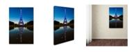 "Trademark Global Robert Harding Picture Library 'Eiffel Tower 12' Canvas Art - 32"" x 22"" x 2"""