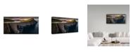 """Trademark Global Wojciech Kruczynski 'Sorvagsvatn' Canvas Art - 10"""" x 19"""" x 2"""""""