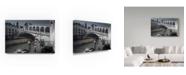 """Trademark Global Moises Levy 'Gondolero' Canvas Art - 24"""" x 16"""" x 2"""""""