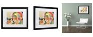 "Trademark Global Wyanne 'The Talker' Matted Framed Art - 20"" x 16"" x 0.5"""