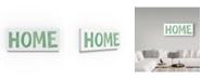 "Trademark Global Summer Tali Hilty 'Home Letters' Canvas Art - 32"" x 14"" x 2"""