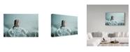 "Trademark Global Mojgan 'Her Back' Canvas Art - 47"" x 2"" x 30"""