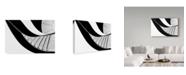 "Trademark Global Rui Correia 'Bw Stairway To Heaven' Canvas Art - 24"" x 2"" x 16"""
