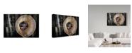 "Trademark Global Mustafa Zengin 'Bucket Maker' Canvas Art - 19"" x 2"" x 12"""