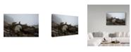 "Trademark Global Mustafa Zengin 'Stone Bridge' Canvas Art - 47"" x 2"" x 30"""