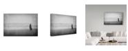 "Trademark Global Milena Seita 'The Longing' Canvas Art - 32"" x 2"" x 22"""