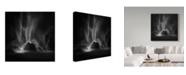 "Trademark Global Shenshen Dou 'Elowah Falls' Canvas Art - 18"" x 2"" x 18"""