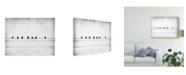 """Trademark Global Jeffrey Hummel 'Sheet Music' Canvas Art - 32"""" x 2"""" x 24"""""""