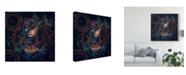 "Trademark Global Natalia Simongulashvili 'Reincarnation' Canvas Art - 18"" x 2"" x 18"""