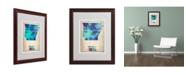 """Trademark Global Naxart 'Arkansas Watercolor Map' Matted Framed Art - 16"""" x 20"""" x 0.5"""""""