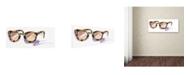"Trademark Global Jennifer Lilya 'Always Sunny' Canvas Art - 10"" x 19"" x 2"""