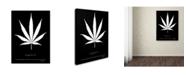 "Trademark Global Potman 'Legalize Quote' Canvas Art - 24"" x 18"" x 2"""