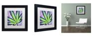 """Trademark Global Potman 'Berry Jane' Matted Framed Art - 11"""" x 11"""" x 0.5"""""""
