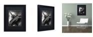 "Trademark Global Moises Levy 'Eiffel Tower Study II' Matted Framed Art - 11"" x 14"" x 0.5"""