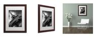 "Trademark Global Moises Levy 'Eiffel Tower Study II' Matted Framed Art - 20"" x 16"" x 0.5"""