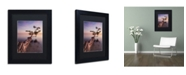 """Trademark Global Moises Levy 'Water Tree IV' Matted Framed Art - 11"""" x 14"""" x 0.5"""""""