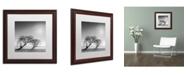 "Trademark Global Moises Levy 'Reverencia' Matted Framed Art - 16"" x 16"" x 0.5"""