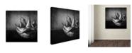 "Trademark Global Moises Levy 'Familia' Canvas Art - 35"" x 35"" x 2"""