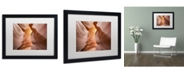 "Trademark Global Moises Levy 'Welcome III' Matted Framed Art - 16"" x 20"" x 0.5"""