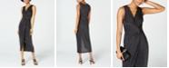BCX Juniors' Surplice Twist-Front Dress
