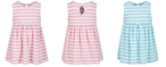 First Impressions STRIPE TERRY DRESS