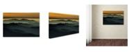 "Trademark Global Rui Correia 'Below The Horizon' Canvas Art - 47"" x 30"" x 2"""