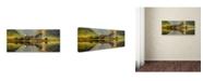 "Trademark Global Wojciech Kruczynski 'Kilchurn' Canvas Art - 19"" x 8"" x 2"""