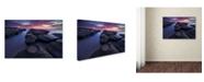"Trademark Global Yan Zhang 'Lighthouse' Canvas Art - 24"" x 16"" x 2"""