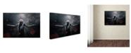 "Trademark Global Mohamad Mahir 'Dark Of Beauty Conceptual' Canvas Art - 19"" x 12"" x 2"""