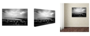 "Trademark Global Murat Kasim 'Wait' Canvas Art - 24"" x 16"" x 2"""