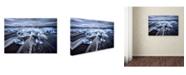 "Trademark Global Jesus M Garcia 'Blue Diamonds' Canvas Art - 32"" x 22"" x 2"""